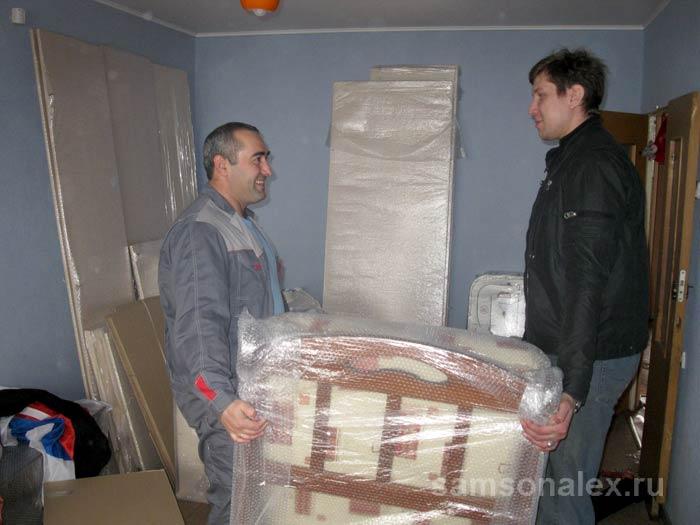 Пузырчатая пленка надежно защитит вашу мебель