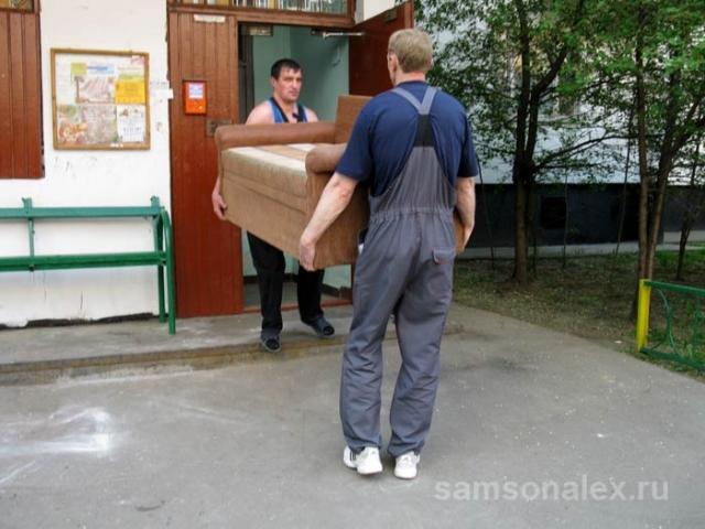 Мягко доставим вашу мягкую мебель