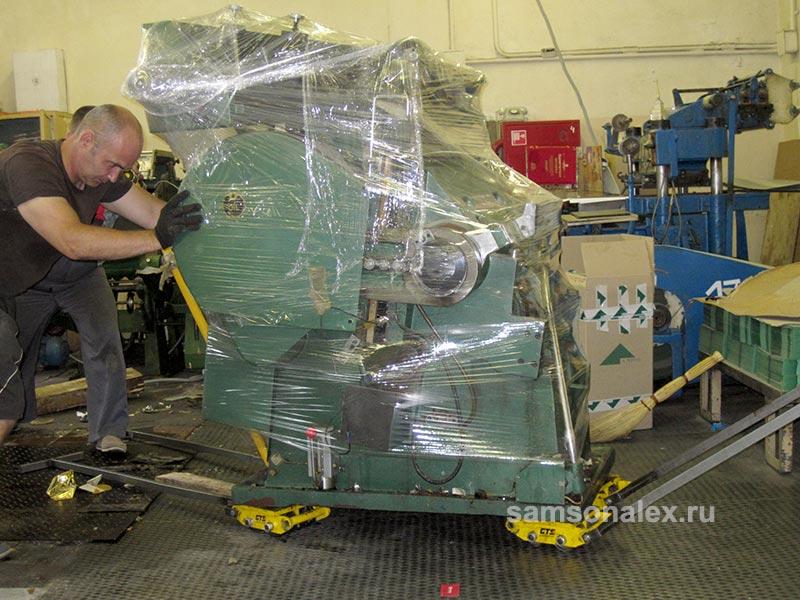Работаем с тяжелым оборудованием